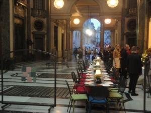 Torino, 4 ottobre 2014. Galleria. Foto, Romano Borrelli