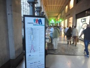 Torino 4 ottobre 2014. Portici di carta. Via Roma. Foto, Romano Borrelli