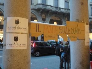Torino, 5 ottobre 2014. Portici di carta. Foto, Romano Borrelli