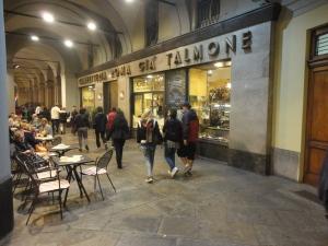 Torino, caffè Talmone, 5 ottobre 2014. Foto, Romano Borrelli.