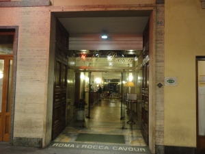Torino, Hotel Roma. Foto, Romano Borrelli