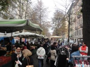 Torino, mercato di Corso Palestro. Foto, Romano Borrelli