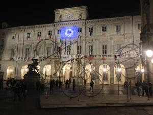 Torino 1 novembre 2014. Il Comune. Foto, Romano Borrelli