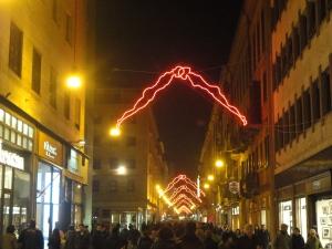 Torino 22 novembre 2014, Luci d'Artista, foto, Romano Borrelli