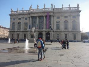 Torino 22 novembre 2014, piazza Castello, foto, Romano Borrelli (2)
