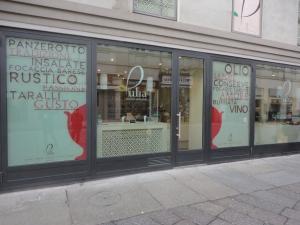 Torino 22 novembre 2014, via Garibaldi, negozio Pulia, foto, Romano Borrelli