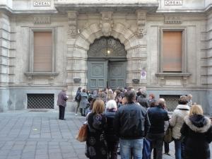 Torino, 22 novembre 2014. Via Garibaldi. Oreal.Foto, Romano Borrelli