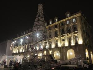 Torino 25 novembre 2014, Piazza Castello, foto, Romano Borrelli