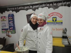 Torino 25 novembre 2014. Piazza San Carlo, stand Centrale del Latte. Foto, Romano Borrelli