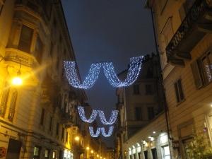 Torino 26 novembre 2014, Luci d'Artista. Foto, Romano Borrelli.