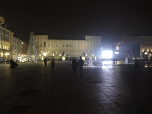 Torino 26 novembre 2014. Piazza Castello, Foto, Romano Borrelli