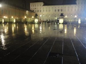 Torino 28 novembre 2014, piazza Castello. Foto, Romano Borrelli