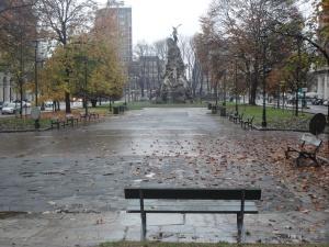 Torino, 28 novembre 2014, piazza Statuto. foto, Romano Borrelli