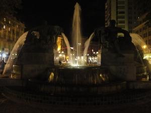 Torino 8 novembre 2014. Piazza Solferino. Foto, Romano Borrelli