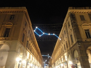 Torino, 8 novembre 2014, via Roma. Foto, Romano Borrelli