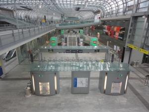 Torino, stazione di Porta Susa e metro. Foto, Romano Borrelli.