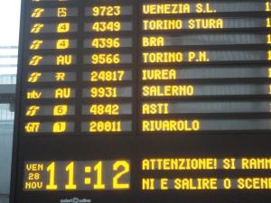 Torino,28 novembre 2014, Porta Susa. Foto, Romano Borrelli