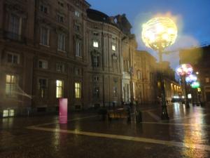 Torino 1 dicembre 2014, Luci d'Artista. Foto Borrelli Romano