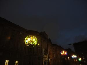 Torino, 1 dicembre 2014, Luci d'Artista. Foto, Romano Borrelli