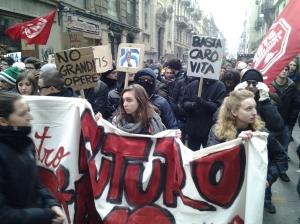 Torino, 12 dicembre 2014, foto Romano Borrelli