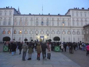 Torino 13 dicembre 2014, Palazzo Reale. Foto, Borrelli Romano