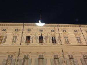 Torino 13 dicembre 2014. Palazzo Reale. In attesa delle poesie aeree. Foto, Romano Borrelli (2)