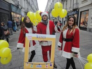 Torino 14 dicembre 2014, via Garibaldi, foto, Romano Borrelli