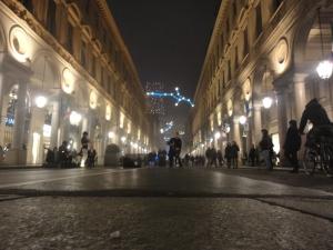 Torino 20 dicembre 2014, via Roma, foto, Romano Borrelli