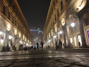 Torino 20 dicembre 2014, via Roma. Foto, Romano Borrelli