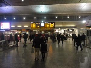 Torino, 24 dicembre 2014, atrio stazione Porta Nuova. Foto, Romano Borrelli (2)