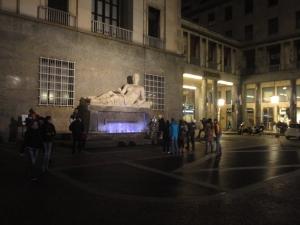Torino 25 dicembre 2014, piazza Cln, foto, Borrelli Romano (2)