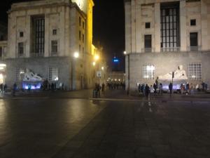 Torino 25 dicembre 2014, Piazza Cln, foto, Borrelli Romano