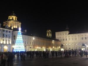Torino 26 dicembre 2014, piazza Castello, Foto, Romano Borrelli