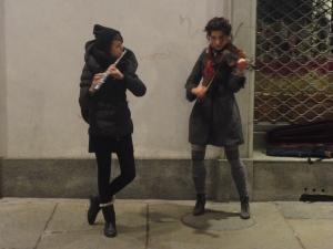 Torino, 26 dicembre 2014, via Garibaldi, foto, Romano Borrelli