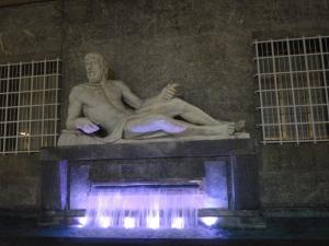 Torino 27 dicembre 2014, piazza Cln, foto, Borrelli Romano