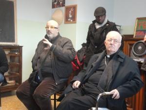 Torino 30 dicembre 2014, Vescovo Cesare Nosiglia e Sergio Durando. Foto, Romano Borrelli
