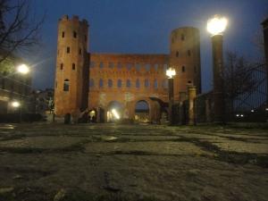 Torino 31 dicembre 2014, Porte Palatine, foto, Borrelli Romano