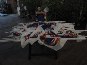 Torino 31 dicembre 2014, Serming, bandiere, foto, Romano Borrelli