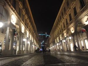 Torino 31 dicembre 2014, via Roma. Foto, Romano Borrelli