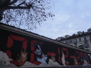 Torino, 5 dicembre, corso Valdocco, foto, Romano Borrelli