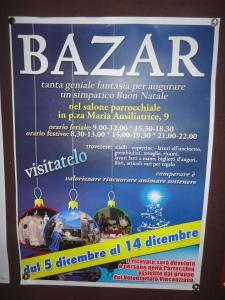 Torino 7 dicembre 2014, Bazar Parrocchia Maria Ausiliatrice, Foto, Romano Borrelli