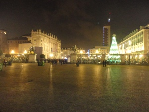 Torino 7 dicembre 2014, Piazza Castello, foto Romano Borrelli