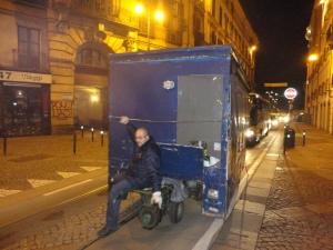 Torino 7 dicembre 2014, via Milano. Foto, Borrelli Romano