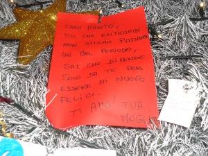 Torino 8 dicembre 2014, albero di Natale a Porta Nuova, foto, Romano Borrelli