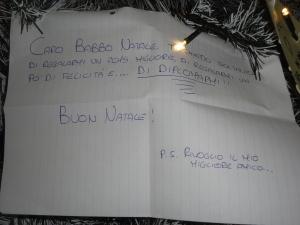 Torino 8 dicembre 2014, atrio Porta Nuova, albero di Natale. Foto, Romano Borrelli