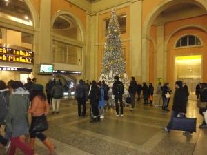 Torino 8 dicembre 2014, Atrio Porta Nuova, foto, Romano Borrelli