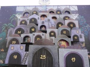 Torino 8 dicembre 2014, Piazza Castello, Presepe, foto, Romano Borrelli
