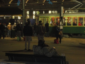 Torino 8 dicembre 2014, Porta Nuova. Foto, Romano Borrelli