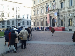 Milano 6 gennaio 2015, foto Romano Borrelli.