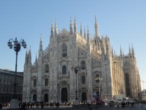 Milano 6 gennaio 2015, il Duomo. Foto Borrelli Romano